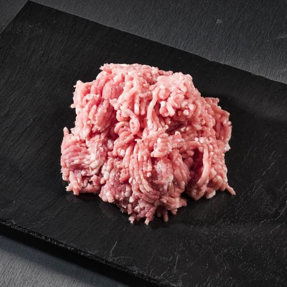 Carne picada de ternera blanca