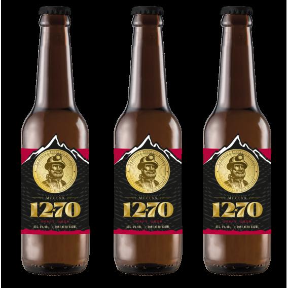 Cerveza DoceSetenta Premium Lager